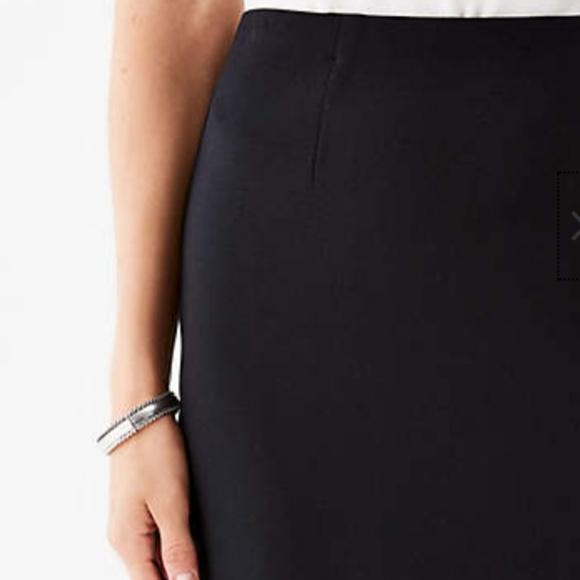 083f203039 j. jill Skirts | Jjill Black Ponte Knit Stretch Pencil Skirt | Poshmark